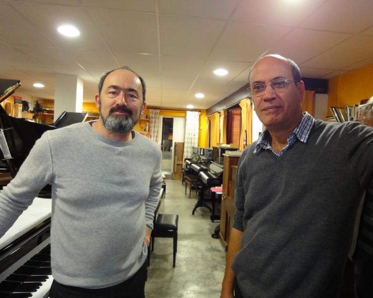 Marc Valdeyron et Mostefa