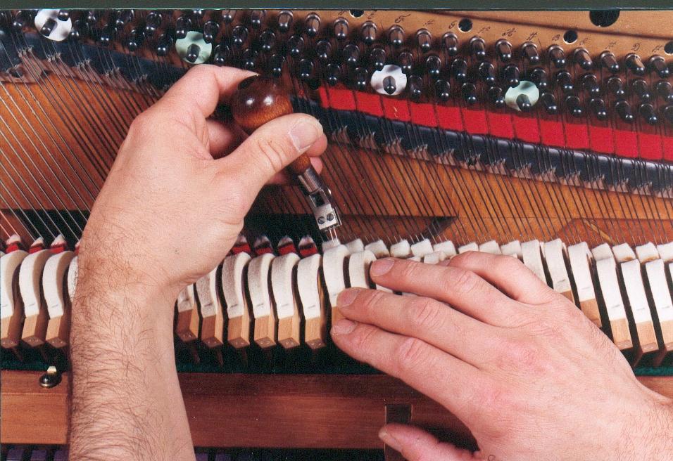 Harmonisation du piano droit