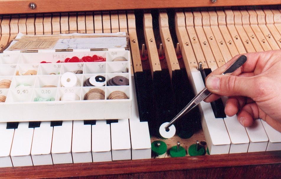 Réglage du clavier