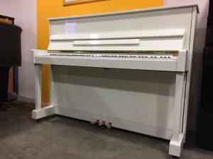 Piano droit Kawaï CX 5H blanc 112 cm